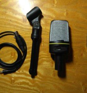 Микрофон + звуковая карта
