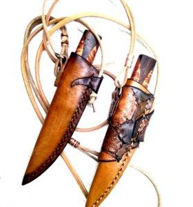 Изготовление ножен для ваших ножей, из кожи.