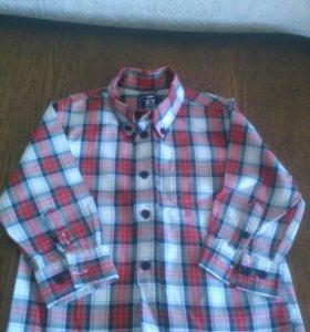Рубашка на годик