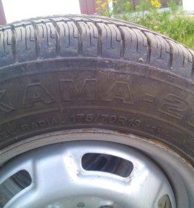 Комплект летних колес R13 Kama-217