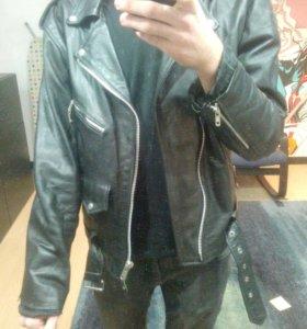 "кожаная куртка ""Genuine Leather"""