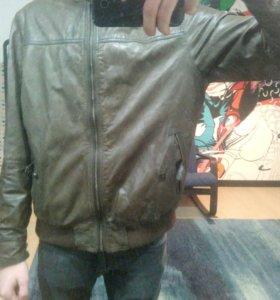 "Продам кожаную Куртку ""Massimo Dutti"""