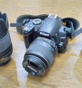 Фотоаппарат Nikon D3000 kit 18-55 mm