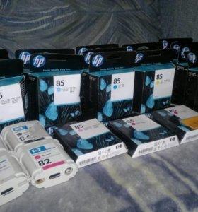 Картриджи HP 82, 85