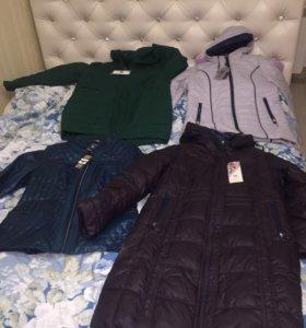 Новые женские куртки 🧥(48,50,52)