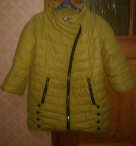 Куртка-жилетка рост 140-146