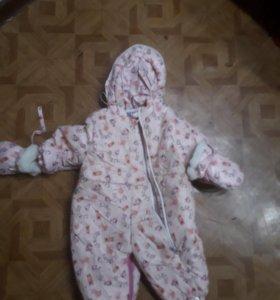 Зимний детский камбенизон