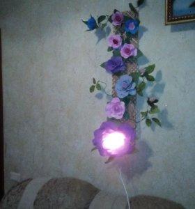 Торшеры,светильники,ночники на заказ из фоам ирана