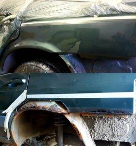 Кузовной ремонт . Сварочные работы