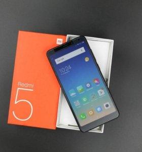 Новые Xiaomi Redmi 5 3/32Gb Global Version Black