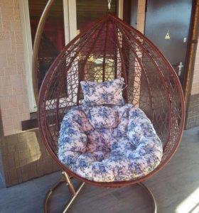 Подвесное кресло качели для дачи, дома и квартиры
