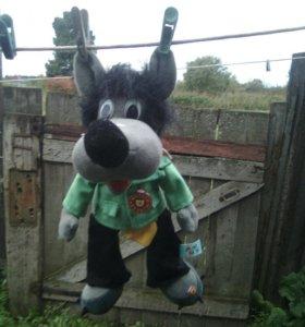 Продам мягкую игрушку волк