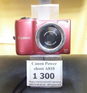 Фотоаппарат Canon Power a810