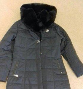 Пуховик - пальто. Размер 48-50
