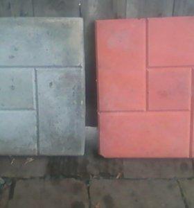 плитка тротуарная 66 штук