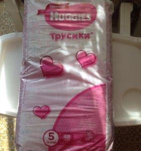 Трусики Haggies девочкам 13-17 кг