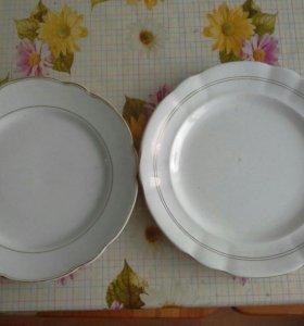 Старинные фарф тарелки
