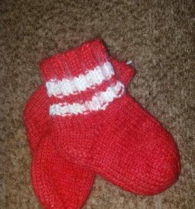 Шерстяные носки 2-3г.