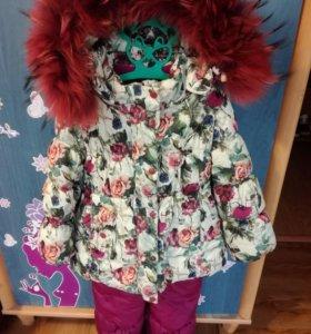Валенки и зимний костюм