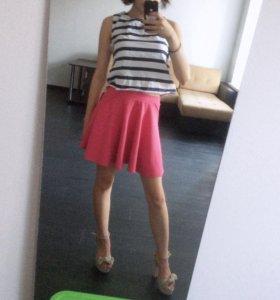 Теплая юбка-солнце