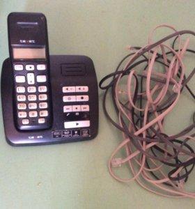 Телефон Texet с трубкой
