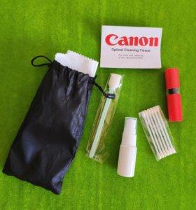 Набор Canon для чистки оптики.