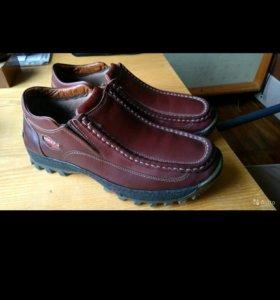 Новые демисезонные ботинки-мокасины Scorpio