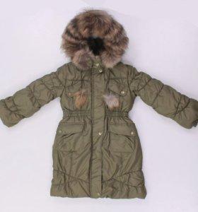 "Пальто зимнее для девочки ""Батик"""