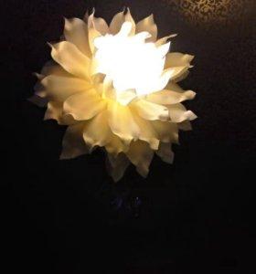 Светильник ручной работы в наличии и на заказ.