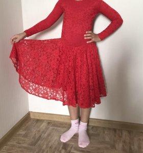 Платье для бальных танцев 128-134