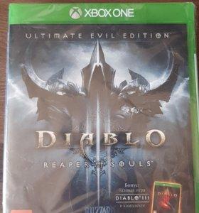 Видеоигра для Xbox one . Diablo III:Reaper of Soul