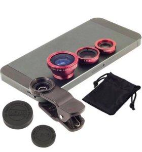 Стеклянная линза-объектив Universal Clip Lens