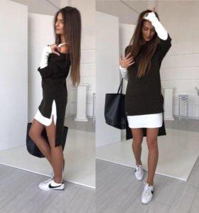 Платье 2 в 1 Новое.