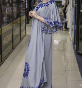Дубаевское платье новое одела один раз на полчаса