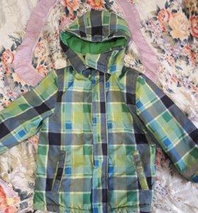 Куртка, демисезонная,мальчик 110см