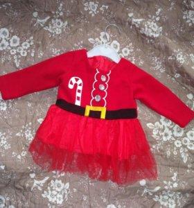 Новое новогоднее платьице