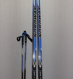Лыжи для школьника