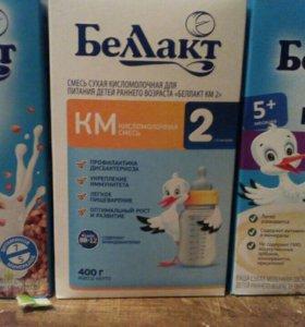 Каши разные и молоко кисломолочное