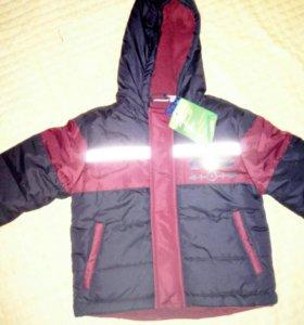 Курточка зима холодная осень
