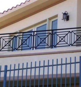 Кованые изделия, балконные ограждения, перила