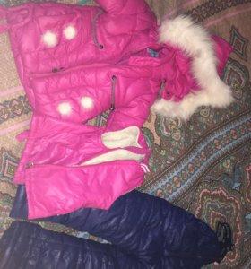 Зимний костюм 3 в 1