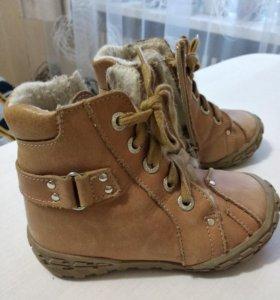 Продам утепленные ботинки фирмы тотто 24 размер