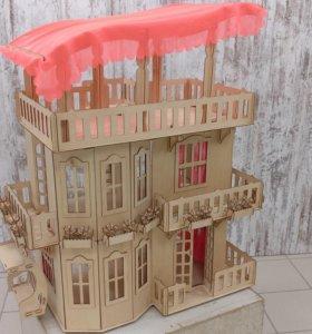 Кукольные домики для Барби, Винкс, Монстер Хай