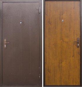 Дверь металлическая «Стройгост 5-1»