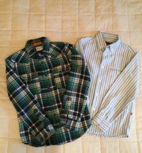 Рубашки на 8 лет -2 штуки.