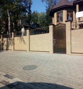 Заборы, ворота, навесы, террасы.
