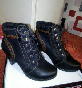 Двое ботиночек 41 размера по 500р