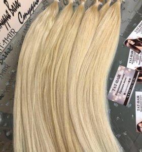 Волосы блондин