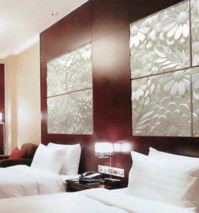3д/3d декоративные панели из гипса на стены зн