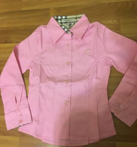 Рубашка новая Burberry на 5 лет